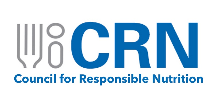CRN logo with Council for Responsible Nutrition text